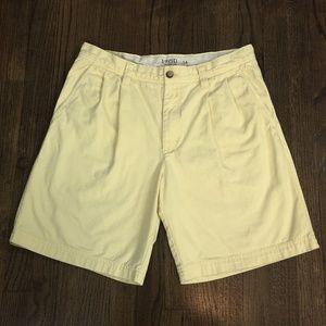IZOD Saltwater Yellow Shorts